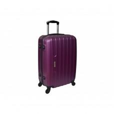 Дорожный чемодан Line большой пластиковый сиреневый (DM10142809BR)