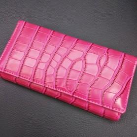 Кошелек розовый крокодильчик (DM11141CL)