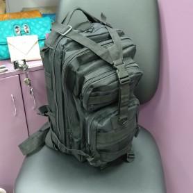 Туристический небольшой многофункциональный спортивный рюкзак чёрный (DM00179178BL)