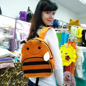 Рюкзак детский оранжевый Пчела для мальчика и девочки (DM0051115BG)