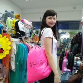Рюкзак Котомка для спорта 8 л ярко-розовая (DM00566152BL)