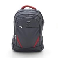 Большой рюкзак серый спортивный повседневный для ноутбука (DM825CL)