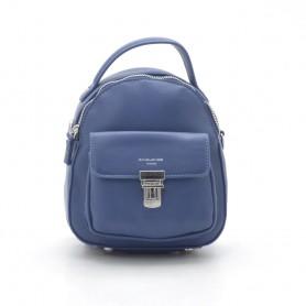 Мини-рюкзак David Jones blue голубой (DMCM3700CL)