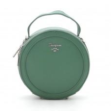 Женская сумка круглая зеленая David Jones (DMCM5059CL)