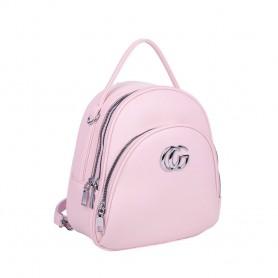 Рюкзак розовый небольшой для девушки  (DMQN-1236CL)