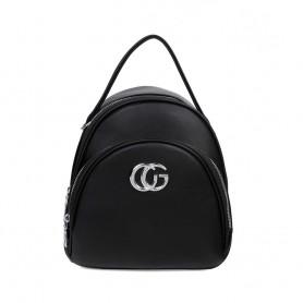 Рюкзак  черный небольшой для девушки  (DMQN-1236CL)