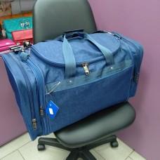 Спортивная дорожная сумка 59 л синяя (DM0032570BL)