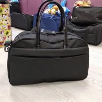 Дорожная сумка с комбинированными ручками 34 л черная (DM0039066BL)