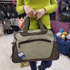 Дорожная женская сумка 22 л хаки (DM003906641BL)
