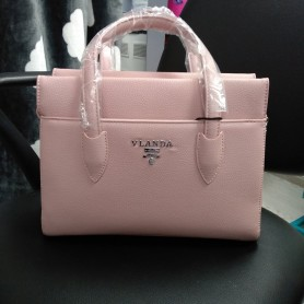 Женская каркасная сумка розовая (DMBH907CL)