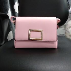 Женская сумка розовая прямоугольная вечерняя (DMCM37651TCL)
