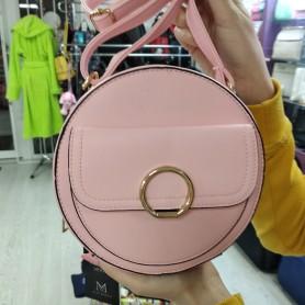 Женская сумка круглая розовая (DMCM5059CL)