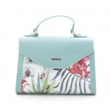 Женская сумка бирюзовая, светло-зеленая David Jones (DMG-9126-1CL)
