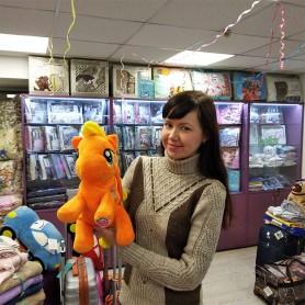 Рюкзак-игрушка для малышей оранжевый Пони (DM19801-02IB)