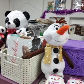 Мягкая игрушка Снеговик (DM2200113KZ)