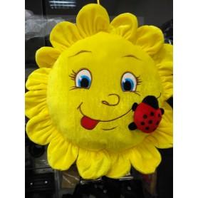 Мягкая игрушка подушка Солнышко желтое (DM220018KZ)
