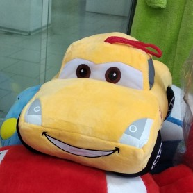 "Подушка игрушка детская ""Тачки""желтая 15 х 21 см (DM6957-02IB)"
