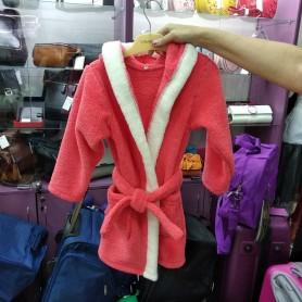 Махровый халат красный детский (DM22005241IT)