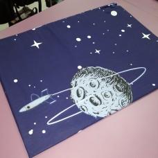 Наволочка 50 * 70 см ранфорс хлопок темно- синяя Ночь Космос (DM2002028TT)