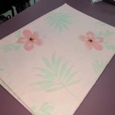 Наволочка 50 * 70 см сатин хлопок розовая Цветы (DM2002030TT)