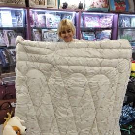 Одеяло двухспальное евро лебяжий пух Нежные узоры (DM24257TT)