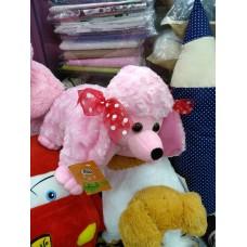 Игрушка-подушка розовая собака Пудель (DM220071KZ)