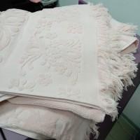Полотенце для лица розовое хлопок Турция с бахромой  (DM5090125DM)