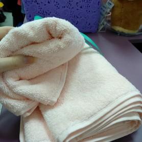 Набор полотенец для лица и тела розовый махра хлопок Турция  (DM50901261DM)