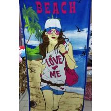 Полотенце пляжное хлопок Турция (DM5090130DM)