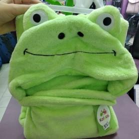 Плед детский с уголком салатовый Лягушка (DM201444OZ)