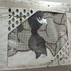Плед детский бежевый теплый бежевый Сладкая любовь Мишка Зайка Турция  (DM201441OZ)