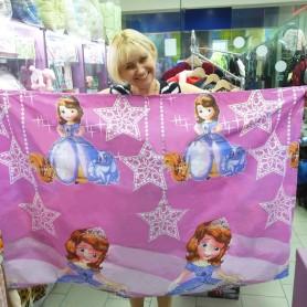 Детское постельное бельё полуторное  Принцесса София 160 х 220 см розовое (DM16022011TT)
