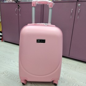 Дорожный чемодан  маленький розовый ручная кладь (DM100520126BR)