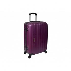 Дорожный чемодан Line маленький пластиковый сиреневый (DM10142009BR)