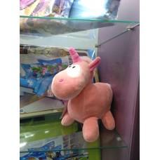 Игрушка Единорог розовая мягкая (DM220021KZ)