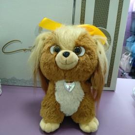 Игрушка Собака мягкая коричневая (DM220031KZ)