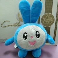 Игрушка Смешарик Зайчик голубого цвета (DM220032KZ)