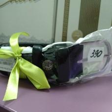 Черный кожаный ремень 3,5 см классика  (DM4126KR)