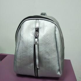 Небольшой городской рюкзак серебряный для девушки (DM59192TCL)