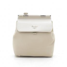 Рюкзак сумка бежевый небольшой для девушки (DM59542TCL)
