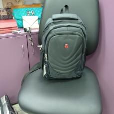 Рюкзак серый спортивный повседневный небольшой с волнами (DM8135512CL)