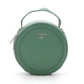 Женская сумка круглая зеленая D. Jones (DMCM5059CL)