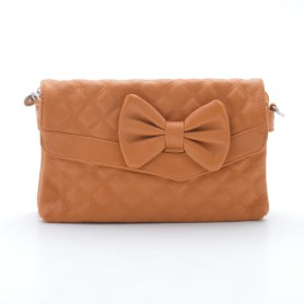 Женская сумка оранжевая рыжая (DM148CL)