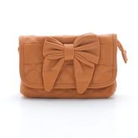 Женская сумка оранжевая рыжая  (DM6628CL)