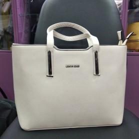 Женская сумка молочная светлая прямоугольная  (DMBH909CL)