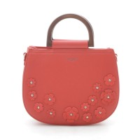 Женская сумка красная маленькая круглая (DMCM5166CL)
