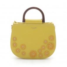 Женская сумка желтая маленькая круглая (DMCM5166CL)