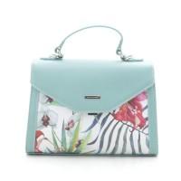 Женская сумка бирюзовая, светло-зеленая D. Jones (DMG-9126-1CL)