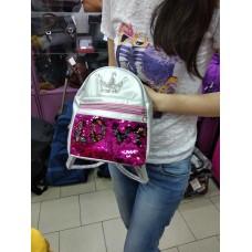 Рюкзак  мини детский с пайетками для принцес (DM022211KZ)