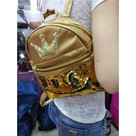 Рюкзак  мини детский с пайетками для принцес (DM022212KZ)